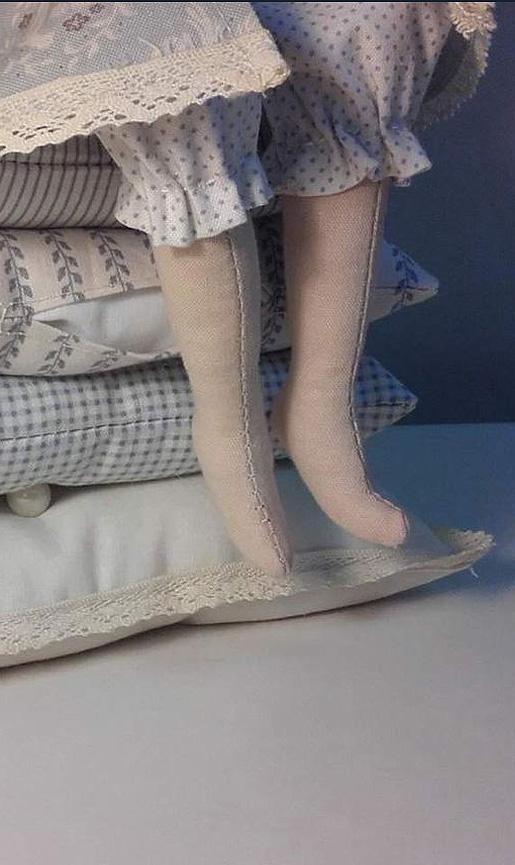 Как сделать ножки для кукол 75